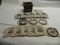 1947-1948-1949 FULL SET FORD PISTON RINGS/_6 cyl H Series/_7HAS-6149-D/_.04 os/_NOS
