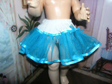 "Aqua Net Petticoat  22-23"" Doll clothes fits Ideal Saucy Walker or Pedigree"