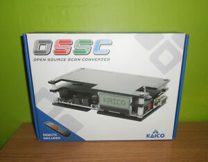 Kaico OSSC (Open Source Scan Converter) retro gaming - PS1 SEGA Mega Drive, SNES
