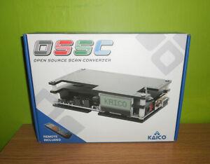 Kaico OSSC (Open Source Scan Converter) retro gaming - PS1 SEGA Mega Drive, SNES