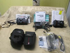 Lot of 3 Nikon Digital Cameras