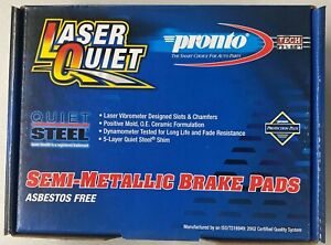 BRAND NEW PRONTO REAR BRAKE PADS LMD785 / D785 FITS *SEE CHART* TURBO CHARGED