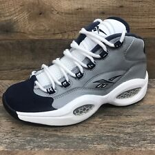 bb791f9bf1719 Reebok Iverson Question Mid Mens Size 7 Georgetown Color Way V48098