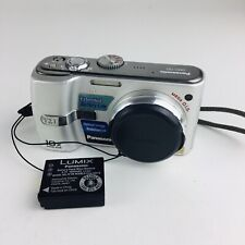 Panasonic LUMIX DMC-TZ1 5.0MP Digital Camera - Silver
