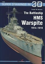 Kagero Super Drawings in 3D 39: The Battleship HMS Warspite 1914-1918