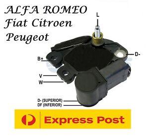 Alternator Voltage Regulator Alfa Romeo Fiat Citroen Peugeot M511 F00M346006