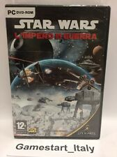 STAR WARS L'IMPERO IN GUERRA (PC) NUOVO SIGILLATO NEW SEALED - VERSIONE ITALIANA