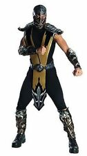 Rubies Adulto Mortal Kombat Escorpión Halloween Cosplay Videojuego Disfraz
