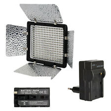 METTLE LED-Videoleuchte VL-300B Video-Licht Kopflicht Akku 2000 mAh & Ladegerät