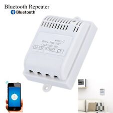 10A/30A Bluetooth Relay Switch Repeater Wireless Mobile Remote Control White GM