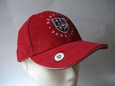 Golf cadeau-ecosse rouge chapeau avec balle marqueur-ball old course st andrews