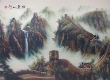 Poster Print 3d picture of the Great Wall, great for Home Decoration L021