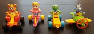 McDonalds 1990 Muppet Babies Happy Meal Toys - Complete Set of 4