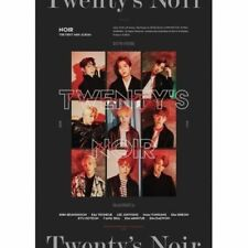 Noir-[Twenty's Noir] 1st Mini Album CD+Broschü+FotoKarte K-POP Sealed Idol Music