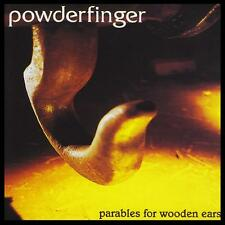 POWDERFINGER - PARABLES FOR WOODEN EARS CD ~ BERNARD FANNING ~ AUSSIE ROCK *NEW*