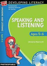 Speaking and Listening: Ages 5-6 (100% New Developing Literacy),Moorcroft, Chris