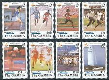Gambia - Olympische Sommerspiele Barcelona Satz postfrisch 1990 Mi. 1070-1077