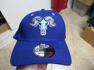 HARTFORD YARD GOATS NEW ERA (3930) FLEX FIT HAT (SM/MED) NWT $30 NAVY BLUE RARE!