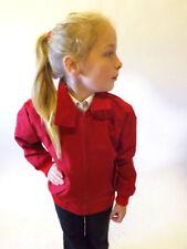 Abbigliamento rossi impermeabili per bambini dai 2 ai 16 anni primavera