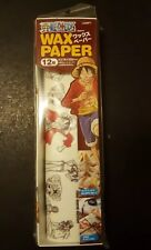 One Piece Anime Decorative Wax Paper 12 pieces bento accessories