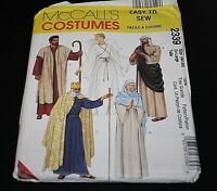 New Nativity Costume size XL 44-45 Angel King Shepard Mary Joseph -I+