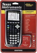 Ti84 T I 84 Texas Instruments Ti-84 Plus C Silver Edition Graphing Calculator