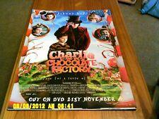 Charlie & la fabbrica di cioccolato (Johnny Depp) FILM POSTER A2
