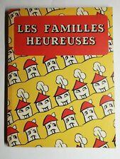 Rare Livre Ancien les familles heureuses Delachaux et Niestlé Paris milieux XXem