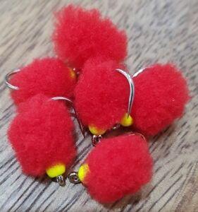 Blood red eggstacy egg flies set of 6