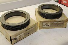 NOS MOPAR 1961-64 Dual Quad Air Filters With Ram Induction # L-162, #2120634