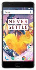 "New OnePlus 3T (Gunmetal, 128GB) 6GB RAM (4G) 5.5"" 16MP Camera SHIP DHL"