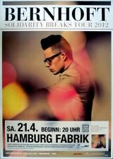 BERNHOFT - 2012 - Konzertplakat - Solidarity Breaks - Tourposter - Hamburg