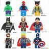 9Pcs Marvel Avengers Mini Figures Fit Lego Hulk Superman Thor Batman SpidermanUK
