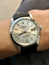 1967 Vintage Rolex Oyster Perpetual Date 1500 Automatic Watch + Rolex Straps