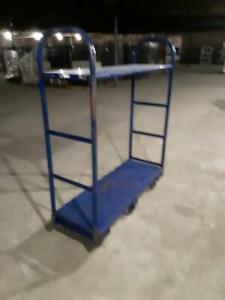 Stock Carts U-Boat Commercial Metal Shelf Material Handling Used Store Fixtures
