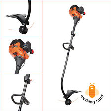 CURVED SHAFT GAS STRING TRIMMER 17 Inch 25 cc 2-Cycle Garden Grass Weed Eater