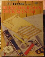 Build Your Own Deck Manual by Randy Byrne (1990, Paperback)