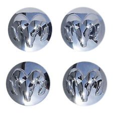 SET of 4 - New Genuine OEM Chrome Center Cap  Dodge Ram 1500 2.5in  (2013 - 17)