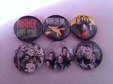 6 Mother Love Bone Pin Button badges 25mm Apple Pearl Jam Nirvana Andrew Wood