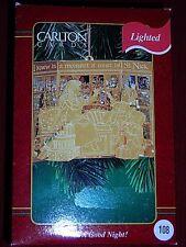 "Carlton Cards ""To All A Good Night"" Light Ornament~NIB"