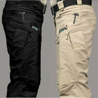 1x7 Tactical Military Army Cargo Pants Security Combat Hiking Hunting Trousers