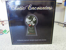 EROTIC ENCOUNTERS A SENSUAL FANTASY BOARD GAME FOR LOVERS NEW