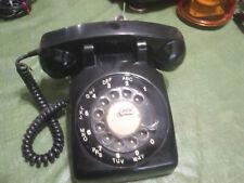 vintage northern telecom phone black rotary