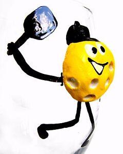 Pickleball Ball Wine Glass Pickleball Gift Player