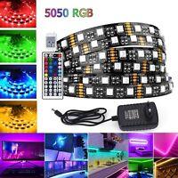 5m RGB LED Stripe Streifen Band Licht SMD 5050 Leiste Farbwechsel selbstklebend
