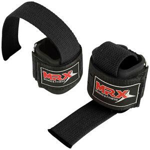 MRX Weight Lifting Bar Straps Gym Fitness Bodybuilding Workout Wrist Wraps Power