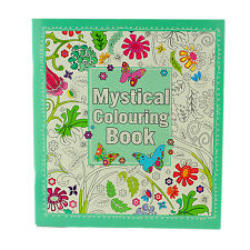 Adult Colouring Book Stress Relief - Realxation Art Therapy Colour Mystical