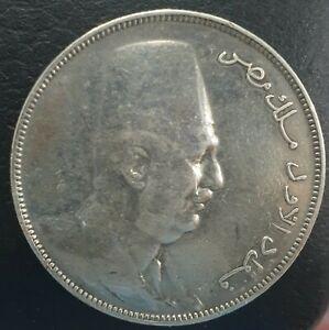 EGYPT 10 PIASTRES 1923