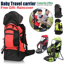 Herren Kindertrage Kid Premium Rückentrage Comfort Shuttle Base mit Raincover DE