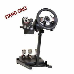 Ultimate Steering Wheel Stand (Black) For Logitech, Xbox, Madcatz, Thrustmaster